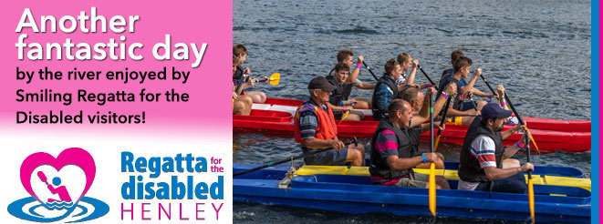 Another fantastic day by the river enjoyed by Smiling Regatta for the Disabled visitors!